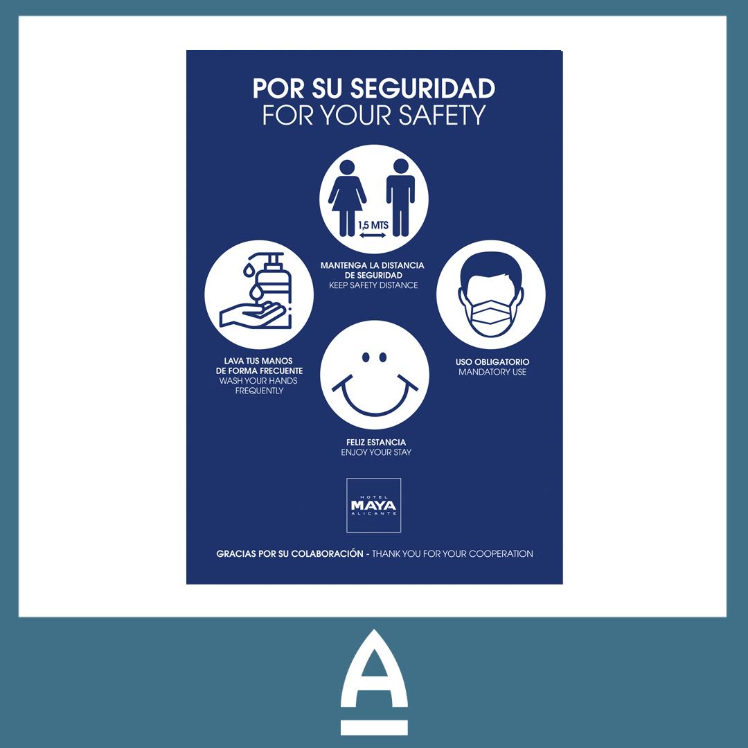 cartel de pvc - Amura Comunicación