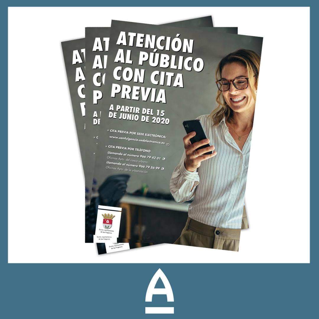 carteles A3 impresos - Amura Comunicación