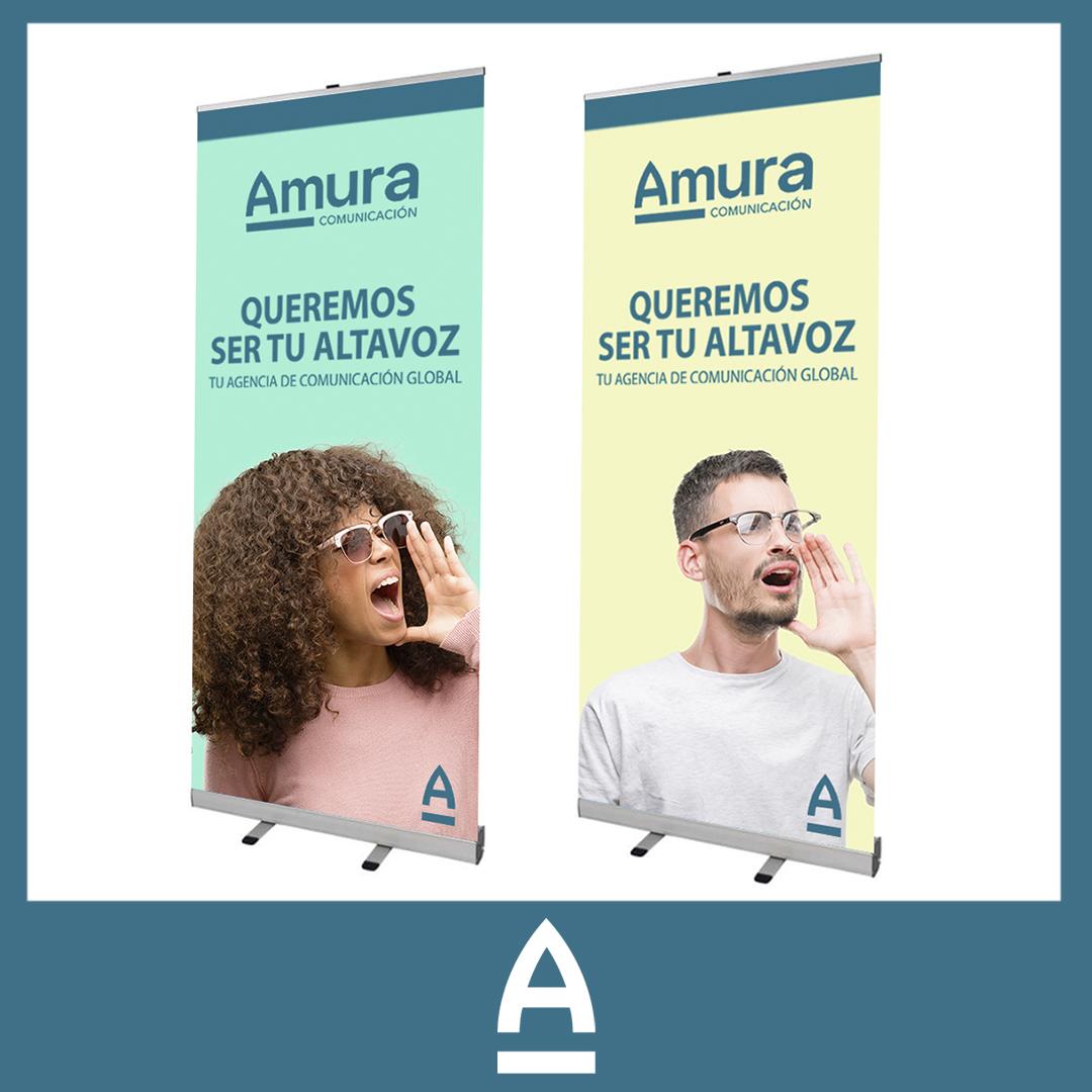 rollup - Amura Comunicación